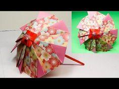 Paper Crafts Origami, Origami Easy, Diy Paper, Paper Art, Japanese Origami, Japanese Paper, Hobbies And Crafts, Diy And Crafts, Origami Umbrella