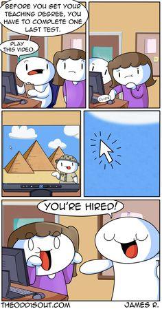 Theodd1sout :: Teachers   Tapastic Comics - image 1