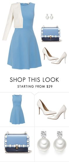 """Untitled #14"" by juliatoniolo ❤ liked on Polyvore featuring SEVENTY, Fendi and BCBGMAXAZRIA"