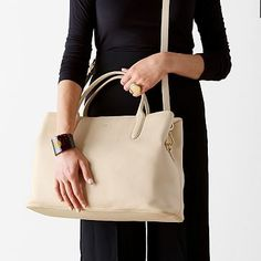 Caroline Leather Bag - I would buy this in a minute if it came in a darker color