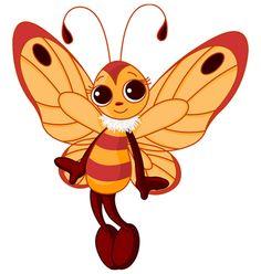 cute butterfly cartoon butterfly banner pinterest butterfly rh pinterest com animated butterfly clipart free