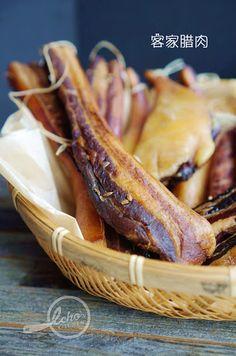 A taste of memories -- Echo's Kitchen: Hakka Waxed/cured Meat 客家腊肉