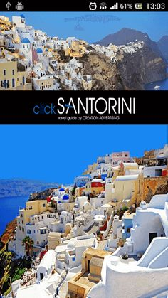 Click Santorini Travel Guide<p>Your personal travel guide to Santorini!<p>Free download the best digital guide for the island of Santorini on your mobile phone and/or tablet.<br>The application Click Santorini is a digital travel guide that provides you all the necessary information about this unique island and its beauty.<br>Using Click Santorini, you can prepare a visit to the beautiful Oia in order to walk on its unique alleys. You can find the best spots in Caldera to admire the view as…
