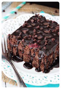 Çikolatalı soğuk pasta 6. adım