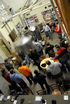 Brew U Class - another sell out  Twisted Pine Brewing  Boulder, CO