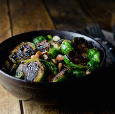 Infuse flavor into nutritious Brussels sprouts using just 5 ingredients with this recipe from The Endless Meal. Each sprout is sliced in half and seared before being cooked in tart balsamic vinegar...