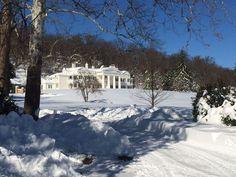 Morven Park is stunning in the snow!