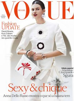 Vogue Magazine Covers, Fashion Magazine Cover, Fashion Cover, Vogue Covers, Bette Franke, Dior, Model Magazine, Anna Dello Russo, Vogue Spain