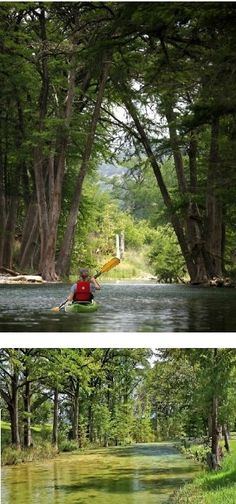 Kayak along the Medina River for a scenic tour of Texas!