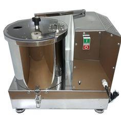 مشخصات، قیمت و خرید غذا ساز صنعتی 10 لیتری دو تیغه تمام استیل | کاتر میکسر صنعتی Compost, Mixer, Composters, Stand Mixer