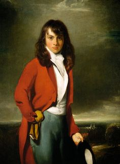 LAWRENCE Sir Thomas, Portrait Arthur Atherley as an Etonian c1791
