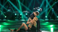 Aliona Vilani and Jay McGuiness during a dress rehearsal recording for this year's series of Strictly Come Dancing on BBC One
