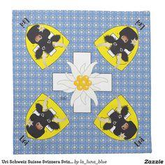 Uri Schweiz Suisse Svizzera Svizra Servieten Bedruckte Serviette
