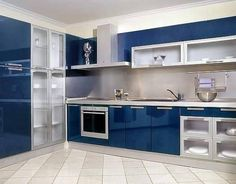 Choose from the largest collection of Kitchen Design & Decorating Ideas to add style at Kitchen. Discover best Kitchen interior inspiration photos for remodel & renovate, here. Kitchen Cupboard Designs, Kitchen Room Design, Modern Kitchen Design, Home Decor Kitchen, Interior Design Kitchen, Cupboard Ideas, Modern Kitchen Interiors, Modern Kitchen Cabinets, Latest Kitchen Designs