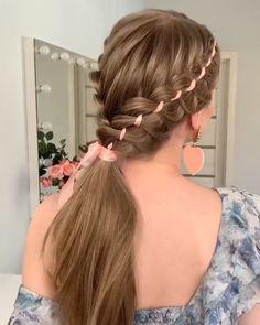 Everyday Hairstyles, Summer Hairstyles, Braided Hairstyles, Female Hairstyles, Dance Hairstyles, School Hairstyles, Hairstyles 2018, Wedding Hairstyles, Cool Braids