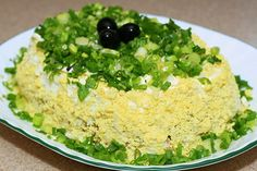 Chicken/Mushroom Layer Salad