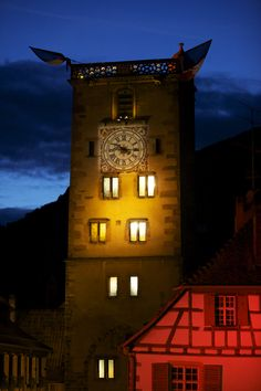 Ribeauville clocktower