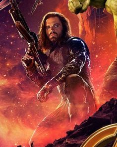 So excited to see Bucky with his new Wakandan arm