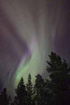 Northern lights, Oulu, Finland