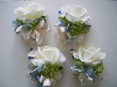 Classic Navy and White Realtouch Rose and Silk by modagefloral, $598.00