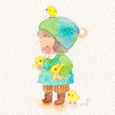 Consulta esta foto de Instagram de @aya_kobayashi_watercolorist • 2,250 Me gusta
