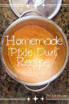diy pixie dust http://j9sopinion.com/tag/homemade-pixie-dust-recipe/