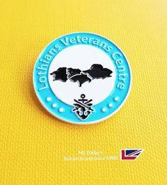 Another stunning white dye plated badge for our long establish customer Danny, blue & black soft enamel. Name Badges, Pin Badges, Make Your Own Badge, Custom Badges, Plating, Create, How To Make, Enamel, Blue