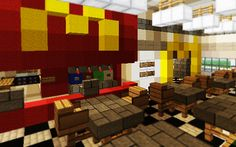 Minecraft McDonald's inside 3