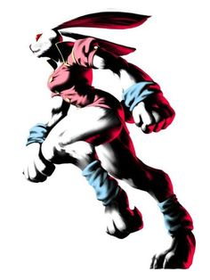Bloody Roar II Art Alice - Rabbit