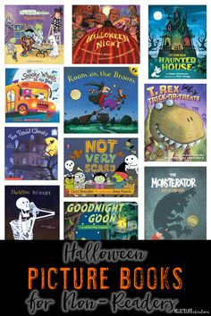 Are you looking for Halloween picture books for non-readers? Then you've come to the right place! These 11 books will be great for your baby, toddler, preschool, Kindergarten student all October long! {Any primary student would LOVE these as well! Who say