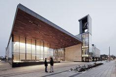 Balsillie School of International Affairs in Ontario, Canada by Kuwabara Payne McKenna Blumberg Architects
