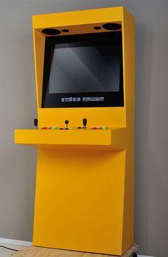Une borne d'arcade rétro … moderne ! | GeeKNewZ.fr