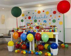 Decoração de festa de aniversário infantil sem personagens   Baby & Kids   It Mãe