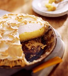 Create your best pie ever with our 45 recipes for favorites including chocolate, pecan, lemon, cherry and pumpkin. You can never have enough Lemon Meringue Pie or pie recipes. Lemon Dessert Recipes, Lemon Recipes, Pie Recipes, Pastry Recipes, Fall Recipes, Delicious Desserts, Yummy Food, Chocolate Chess Pie, Almond Pastry