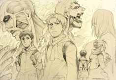 """the finished doodle from yesterday's video <a href=""""http://picslist.com/tags/my stuff"""" id=""""my stuff"""" class=""""lbxlink"""">#my stuff</a> <a href=""""http://picslist.com/tags/shingeki spoilers /"""" id=""""shingeki spoilers /"""" class=""""lbxlink"""">#shingeki spoilers /</a>  965 shares - <a href=""""http://picslist.com/image/120042020023"""">source</a> - <a href=""""http://picslist.com/blog/nenekantoku"""">nenekantoku blog</a>"""