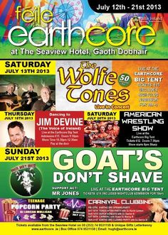 Féile Earthcore Gweedore 12-21 July 2013