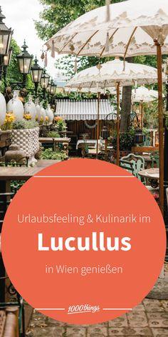 Bei einem Besuch im Lucullus erwartet dich ein wunderschöner, märchenhafter Gastgarten, in dem sich die köstlichen Speisen, ein Glas Wein oder der hausgemachte Eistee gleich noch viel besser genießen lassen.