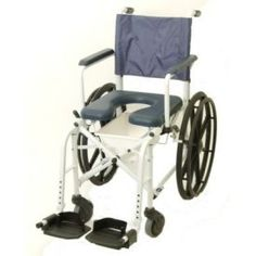 The Invacare 6795 Mariner rehab shower commode chair – 16 inch offers a lightweight aluminum frame and stainless steel hardware making it ideal for shower use. Flip-back padded arms, swing-away front riggings and a Four-Position padded Seat aid in providing user comfort. It is designed for use in the shower and also fits over most […]