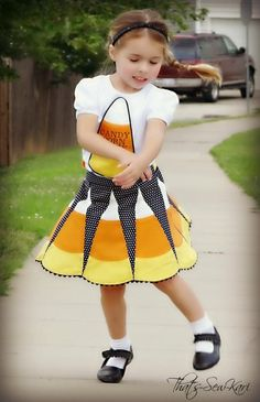 How to Candy Corn-ify Your Retro Glam Skirt (Little Lizard King) — Pattern Revolution
