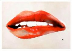 Lips I  painted