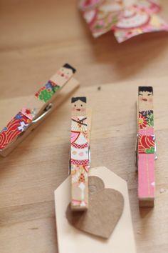 Japonesitas con pinzas