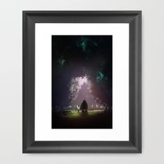 Feel Lonesome Framed Art Print by wit_art - $35.00