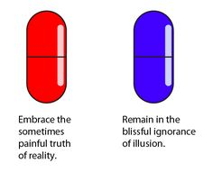 Red or blue pill essays Red pill or Blue pill? essaysWould I take the red pill or the blue pill? One of my pet peeves is not knowing the truth. I would definitely take the red pill. Matrix Quotes, Red Pill Blue Pill, Wake Up Neo, The Devil's Advocate, Isis Goddess, Mad Science, Keep It Real, Know Your Meme, Frases