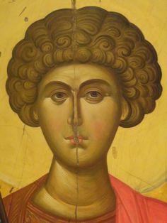 Byzantine Icons, Byzantine Art, Religious Icons, Religious Art, Art Icon, Saint George, Orthodox Icons, Illuminated Manuscript, Saints