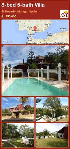 8-bed 5-bath Villa in El Rosario, Malaga, Spain ►€1,750,000 #PropertyForSaleInSpain