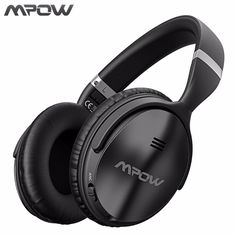 2bd9a32e6b4 Mpow ANC Active Noise Cancelling Wireless Bluetooth Headphones Hi Fi Stereo  Headset With EVA Bag For iphone X Huawei TV Phones -in Bluetooth Earphones  ...