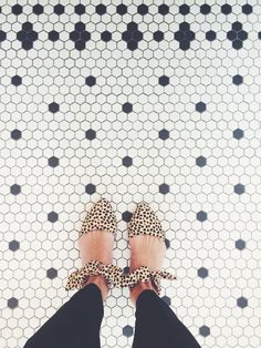 Spotted: Must Have Flats ,,,, idk bout you, but I like the floor