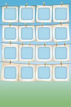 Hanging Frames iPhone 4 wallpaper