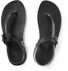 Alvaro - Buckled Leather Sandals
