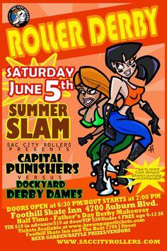 Roller Derby 2 by ~mikehampton on deviantART